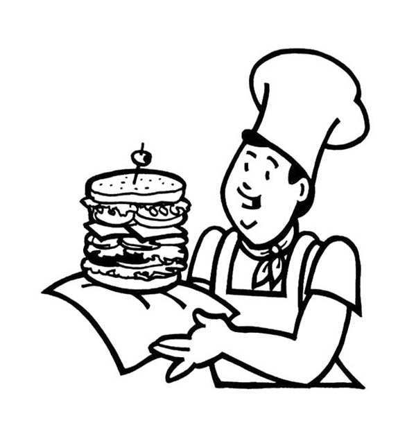 Fast Food the Big Burger Junk Food