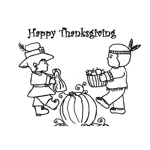 sharing coloring page - sharing food pages coloring pages