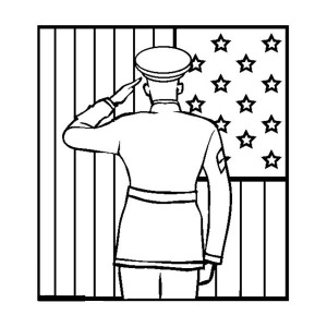 Soldier Name Tag Celebrating Veterans Day Coloring Page: Soldier ...