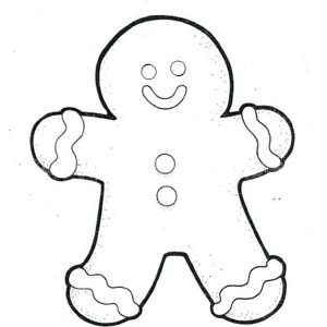 christmas happy holidays say mr gingerbread men on christmas coloring page happy holidays say