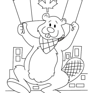 Picture of Canada Day Coloring Pages