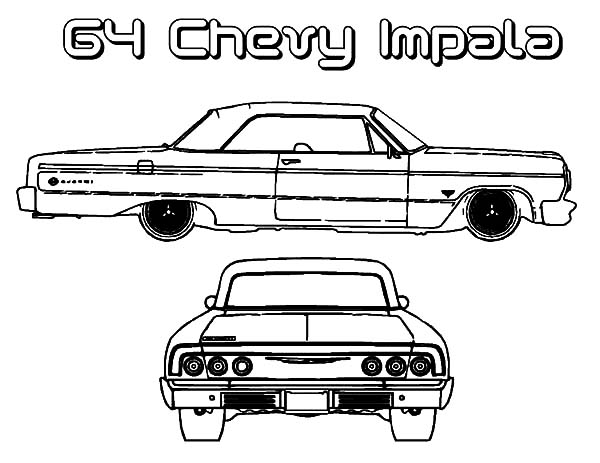 Hydraulic Car Coloring Pages : Lowrider hydraulics coloring page pages