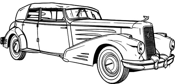 coloring pages antique cars | Antique Lowrider Cars Coloring Pages: Antique Lowrider ...