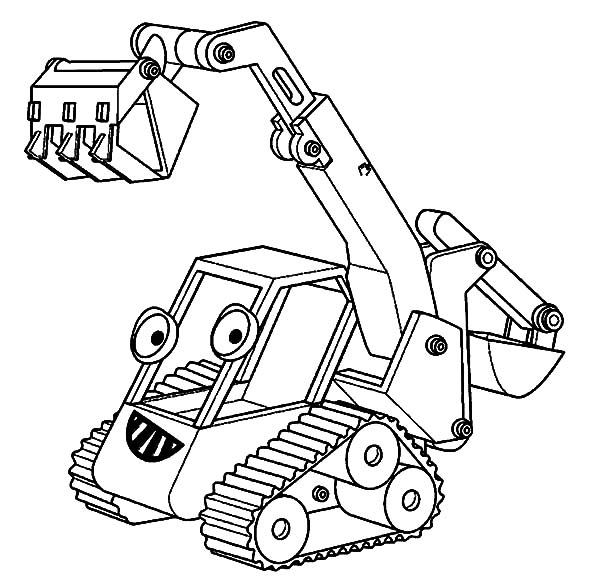 coloring pages excavator - download online coloring pages for free part 10