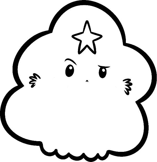 Chibi Picture Lumpy Space Princess Coloring Pages