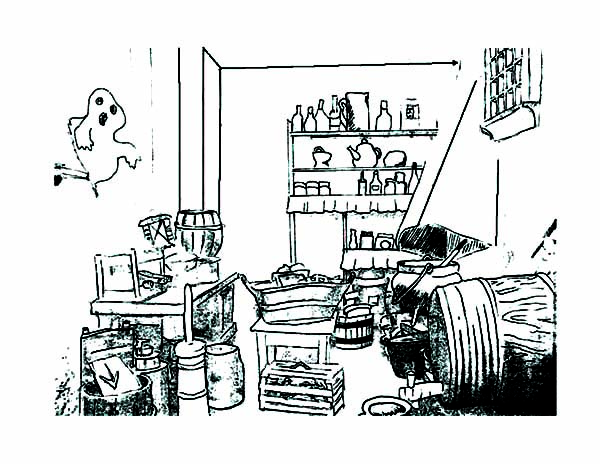 Dirty Kitchen Coloring Pages: Dirty Kitchen Coloring Pages – Color ...