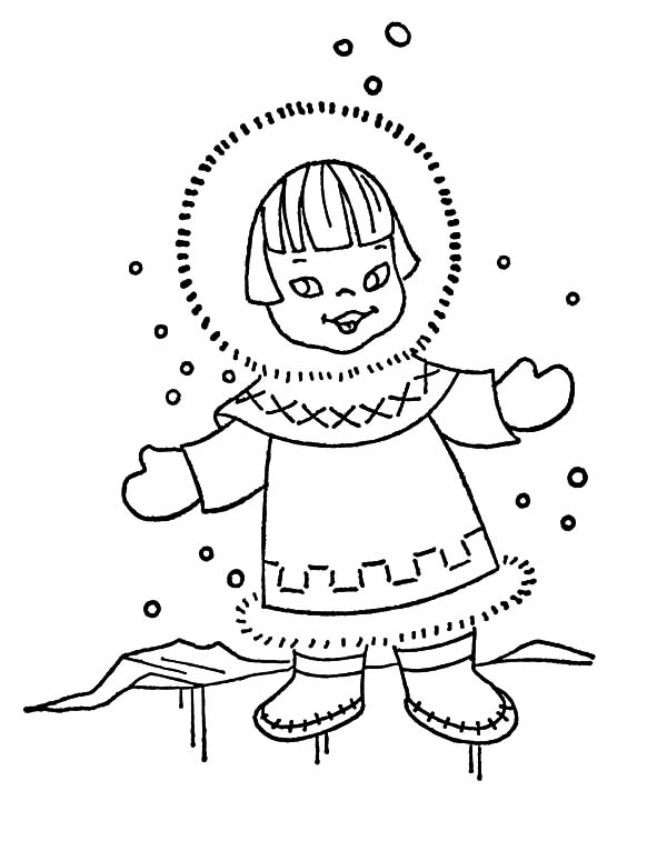 coloring pages weather snowy - photo#7