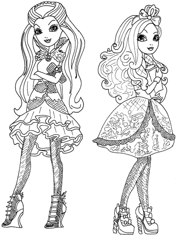 ever after high dragon coloring pages | Download Online Coloring Pages for Free - Part 11