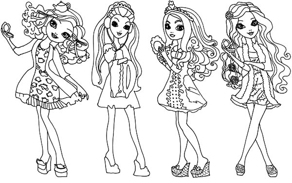 Ever After High Coloring Pages - Download & Print Online Coloring ...