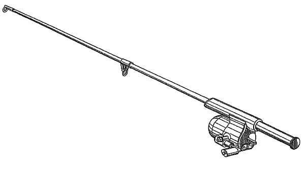 Fishing Pole Coloring Pages