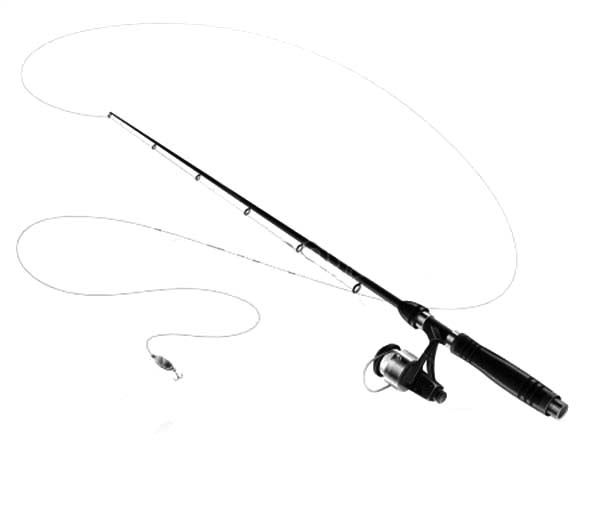 Fishing Pole Bending Coloring Pages Fishing Pole Bending Coloring