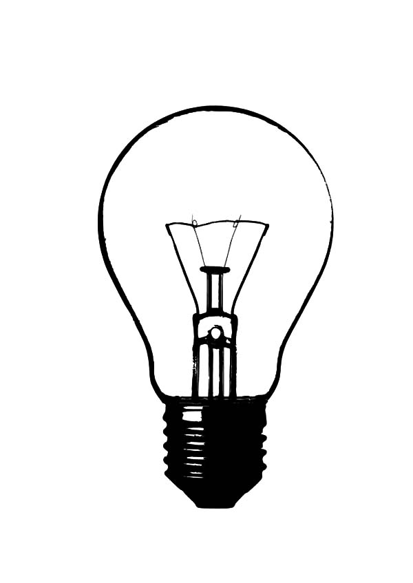 black light coloring pages - free coloring pages of idea light bulb