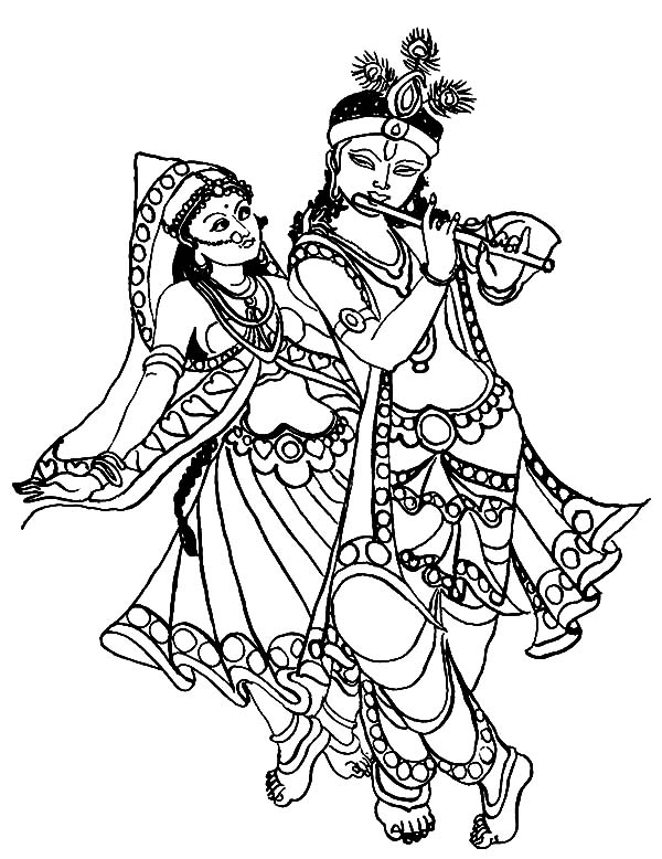 Download online coloring pages for free part 29 for Coloring pages of krishna
