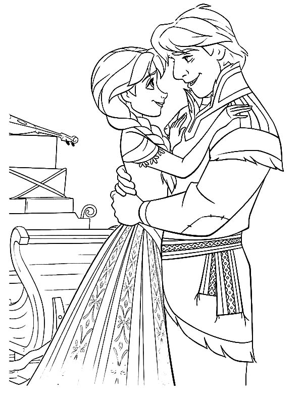 Kristoff kristoff love princess anna coloring pages kristoff love princess anna coloring pagesfull size