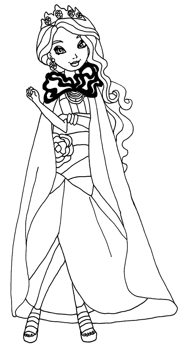ever after high dragon coloring pages | Legacy Day Briar Ever After High Coloring Pages - Download ...