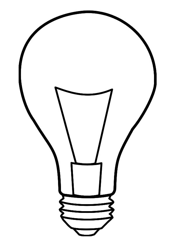thomas edison coloring pages - search results for light bulb coloring page calendar 2015