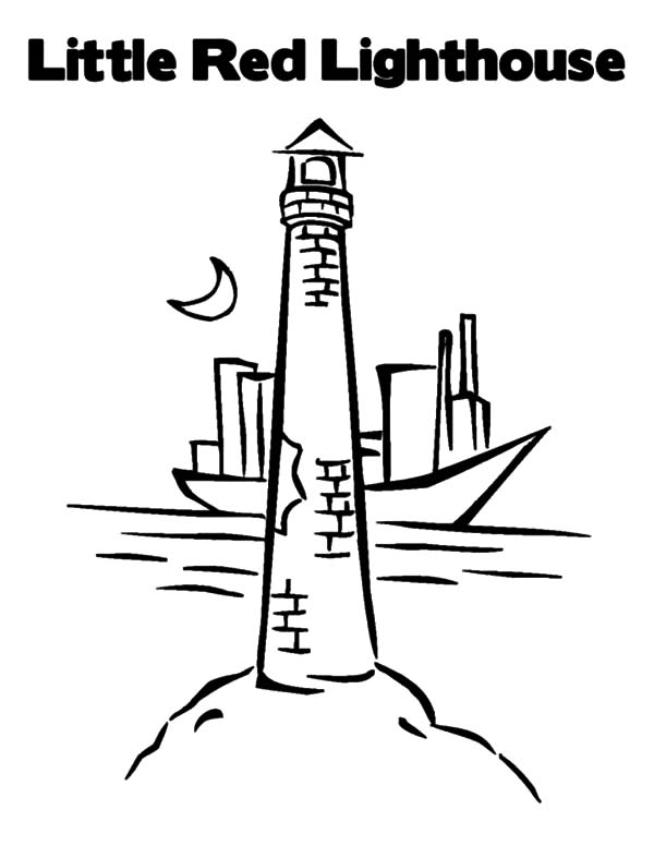 Lighthouse Coloring Page Stunning Coloring Page For Adults