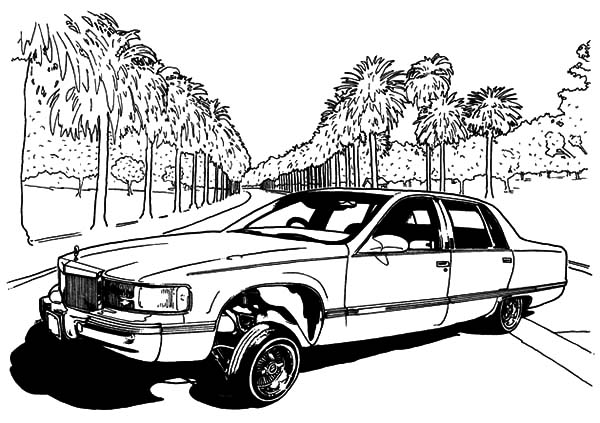 Lowrider Cars Show Coloring Pages: Lowrider Cars Show Coloring ...