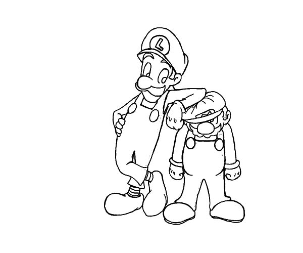 mario baseball coloring pages - photo#26