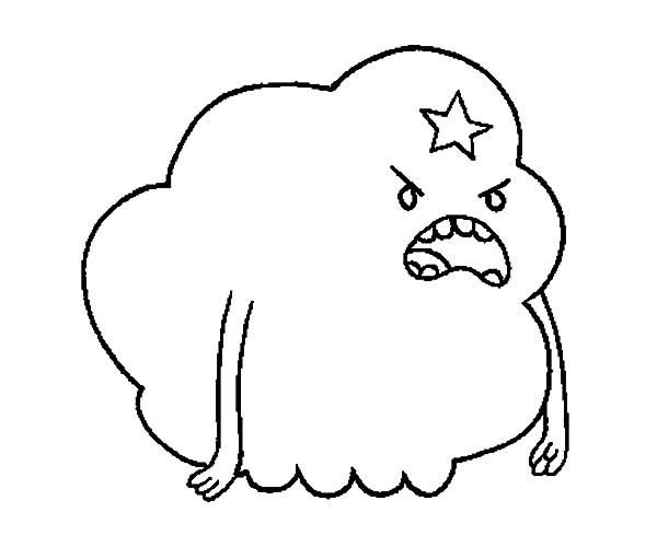 Lumpy Space Princess Yelling At Someone Coloring Pages Lumpy Space Princess Coloring Pages Printable