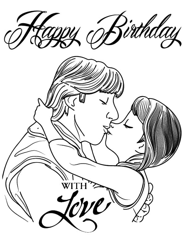 Princess Anna Kiss Kristoff Coloring Pages Princess Anna Kiss