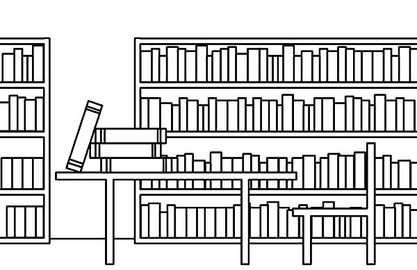 library school library coloring pages school library coloring pagesfull size image