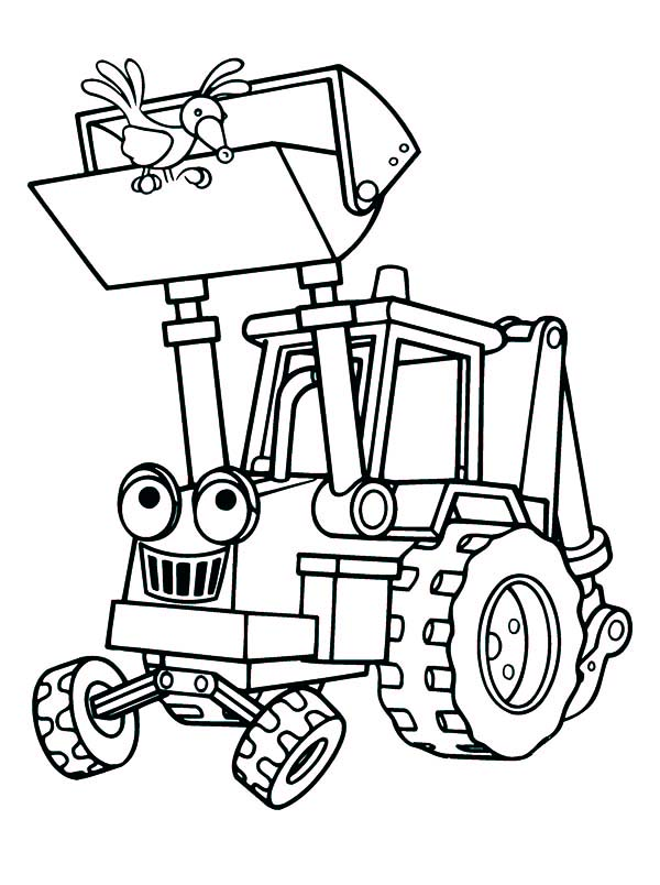 mining equipment coloring pages - photo#19