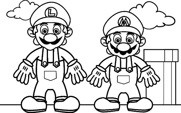 mario baseball coloring pages - photo#32