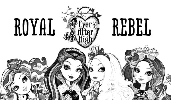The Royal Rebel Ever After High Coloring Pages