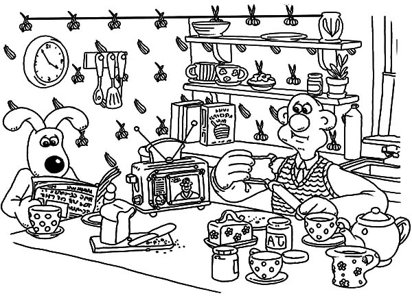 Kitchen Coloring Pages for Kids Kitchen Coloring Pages for Kids
