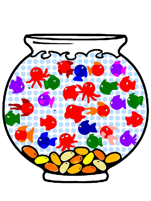 Empty Fish Bowl Coloring Page Download Print Online Coloring
