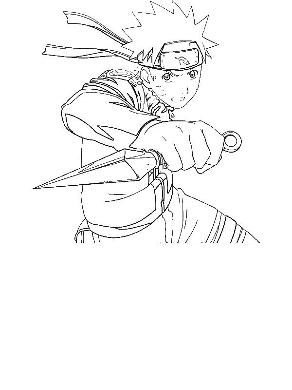 Great Uzumaki Naruto Coloring Page Download Amp Print