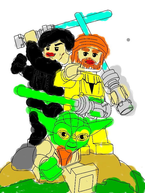 Lego Star Wars Characters Coloring Page - Download & Print Online Coloring Pages for Free ...