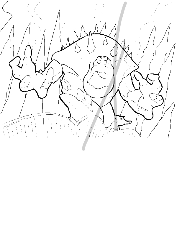 Marshmellow Getting Shocked Coloring Page Download