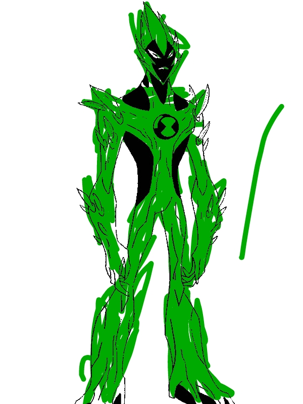swampfire from ben 10 alien force coloring page - download & print ... - Ben Ten Alien Force Coloring Pages