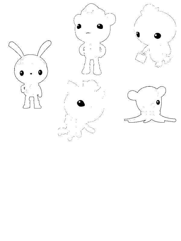 octonauts coloring pages all characters - photo#9