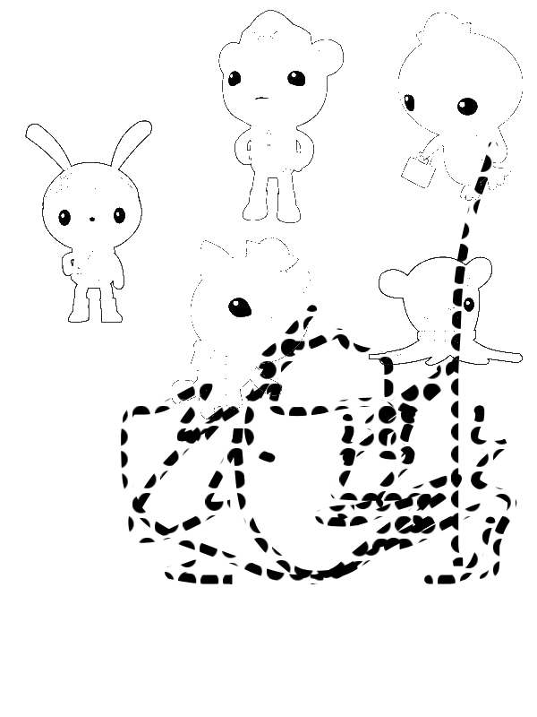 octonauts coloring pages all characters - photo#16