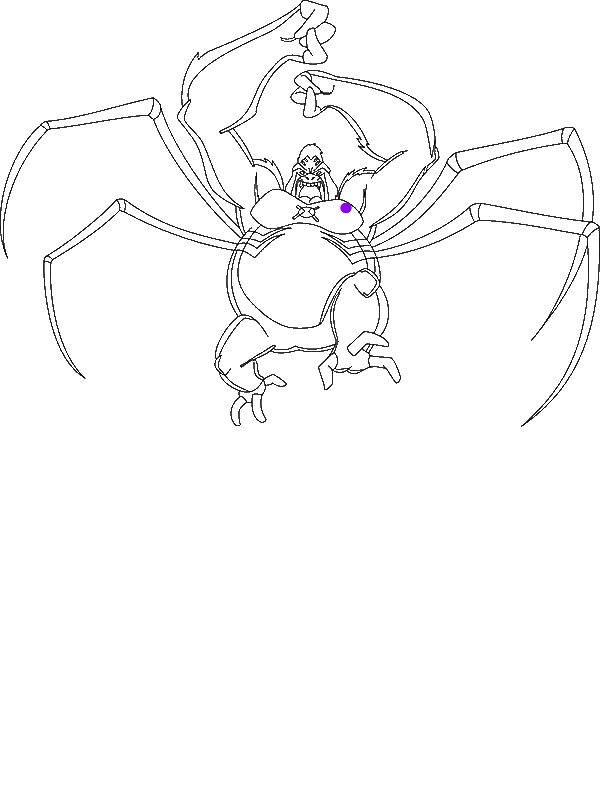 spider monkey coloring pages - ultimate spider monkey from ben 10 ultimate alien coloring