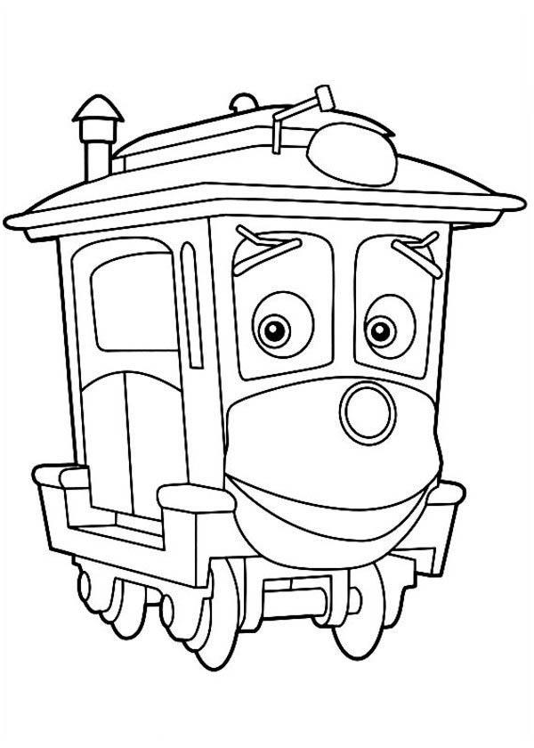 Chuggington coloring pages online ~ Amazing Calley Of Chuggington Coloring Page - Download ...