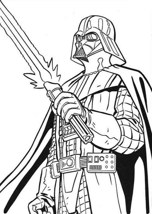 star wars coloring pages lightsaber - photo#19