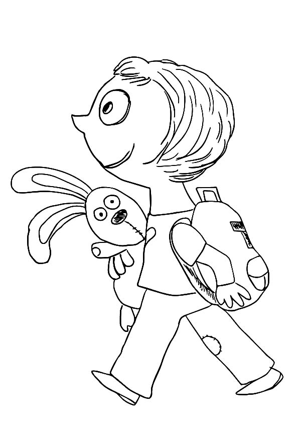 knuffle bunny too coloring pages | Knuffle Bunny Too Coloring Pages | Coloring Pages for ...